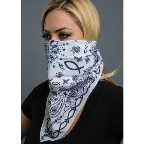 PAISLEY FAITH BANDANA