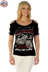 Midnight Rider Ladies T-Shirt