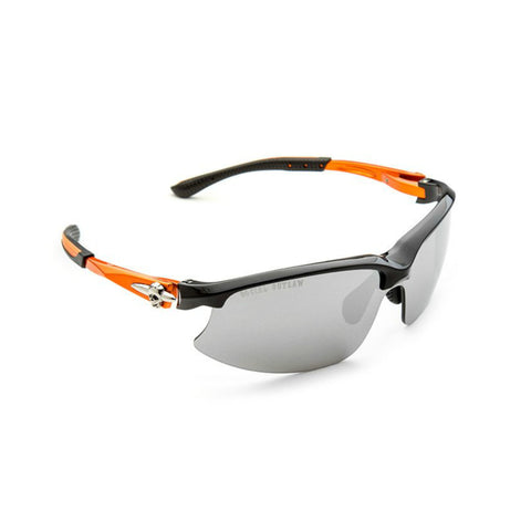 Sunglasses-Performance Biker w/Interchangeable Lens-Orange