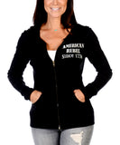 American Rebel Zip Up Hoodie