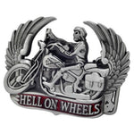 Hell on Wheels Belt Buckle