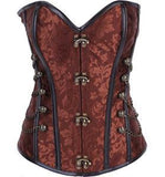 Medieval Brown Corset
