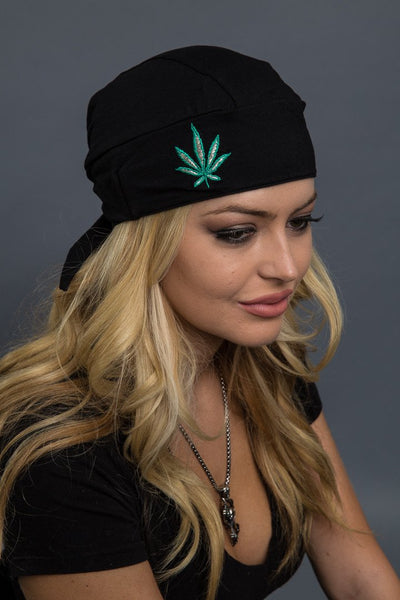 GREEN LEAF FULL-HEAD WRAP $16.99