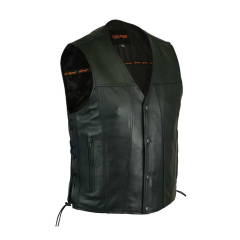 Men's Single Back Panel Concealed Carry Vest