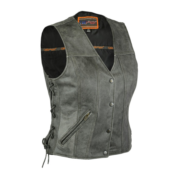 Women's Gray Concealed Carry Vest