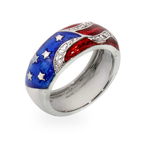 USA Flag Ring
