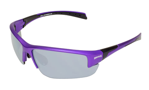 Hercules® 7 Purple Metallic Motorcycle Safety Sunglasses