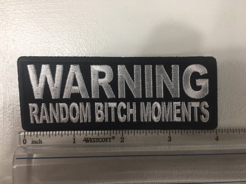 Warning Random B**** Moments Patch