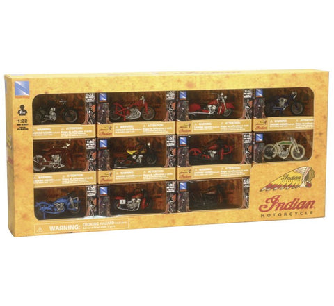 New Ray Toys Limited Edition Indian® Bike Assortment 11 Pc.