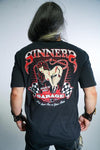 Sinners Garage Pin Up Girl Tee