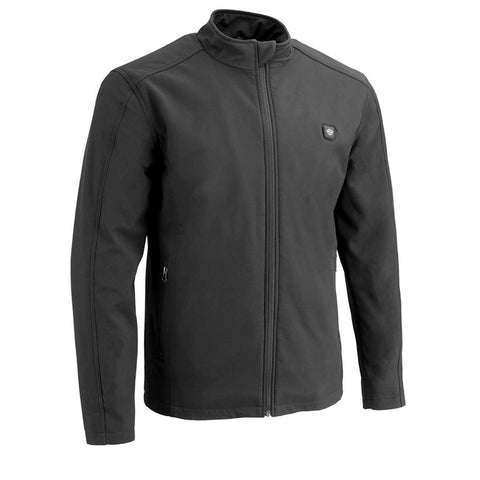 Soft Shell Polyester Heated Jacket