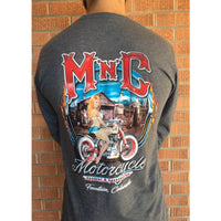 M 'n' C Pin Up Long Sleeve