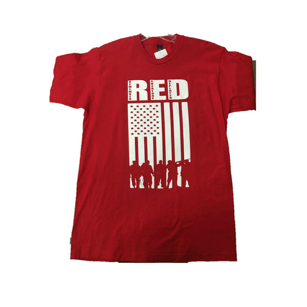 Red Short Sleeve RED Friday Shirt
