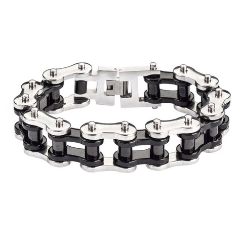 "Black Rollers 3/4"" Wide THICK LINK"