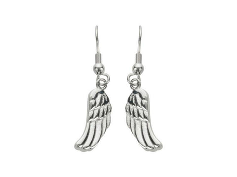 Angel Wing Earrings Post