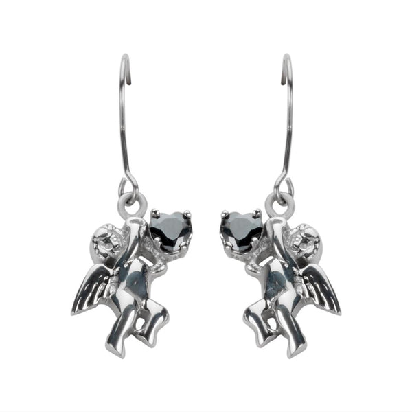 Cherub Angel Earrings
