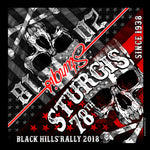 Official 2018 Sturgis Motorcycle Rally Flag Skull Bandana