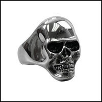 Smooth Skull Ring