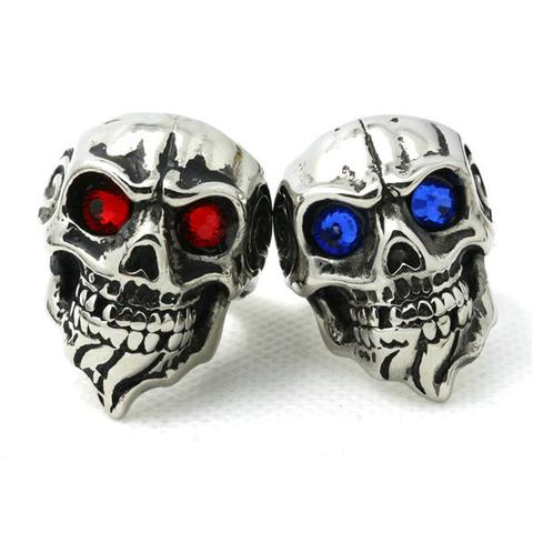 Bearded Skull Blue