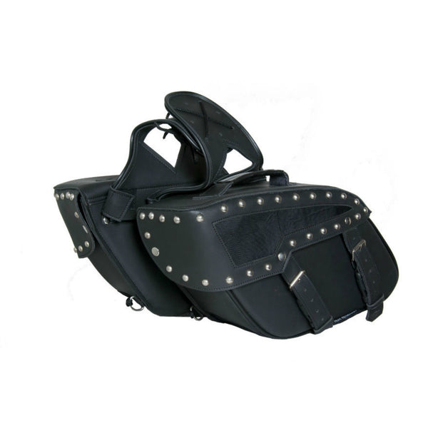 Two Strap Saddle Bag w/ Studs