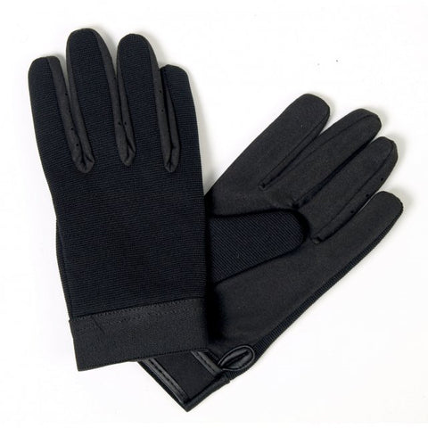 Plain Black Mechanics Gloves