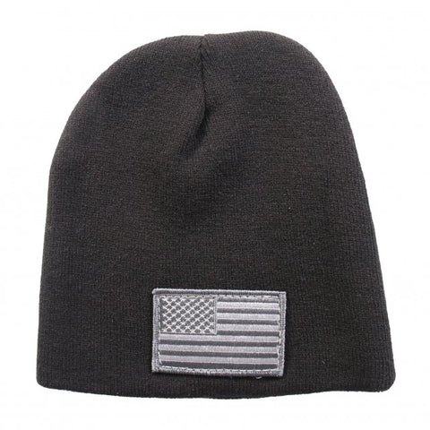 Urban American Flag Knit Hat