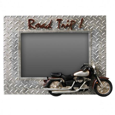 Road Trip Motorcycle Picture Frame