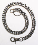"20"" Gunmetal Wallet Chain"