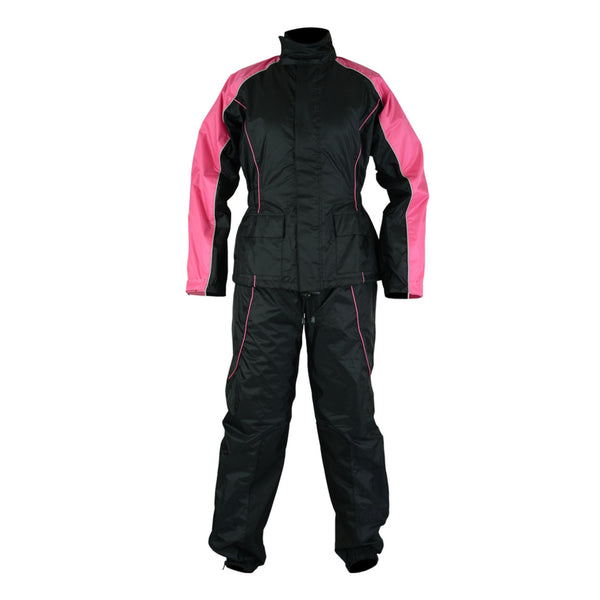 Women's Rain Suit (Hot Pink)