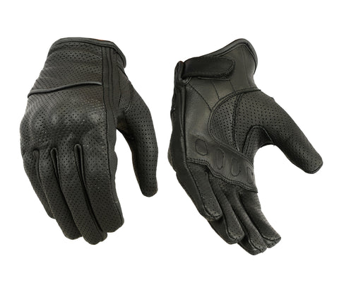 Women's Perforated Sporty Gloves