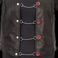 Metal Rose Ladies Vest Extender
