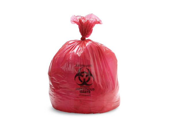 44 Gallon Red Biohazard Bag