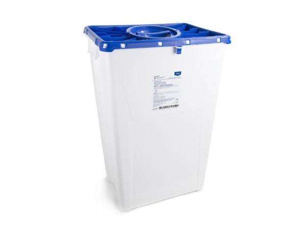 18 Gallon Pharmaceutical Waste Container (port lid)