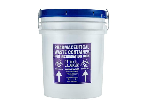 2 Gallon Pharmaceutical Waste Bucket