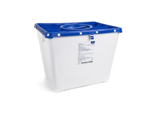 8 Gallon Pharmaceutical Waste Container with Port Lid