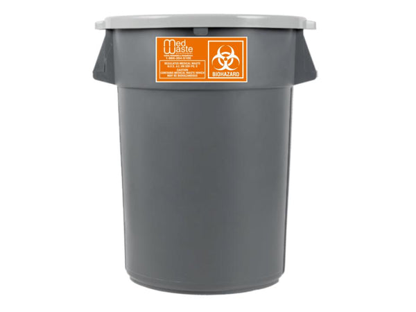 10 Gallon Reusable Medical Waste Container (Call To Order)