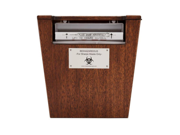 Sharps Containers Cabinet - For 5 Quart Sharps Containers