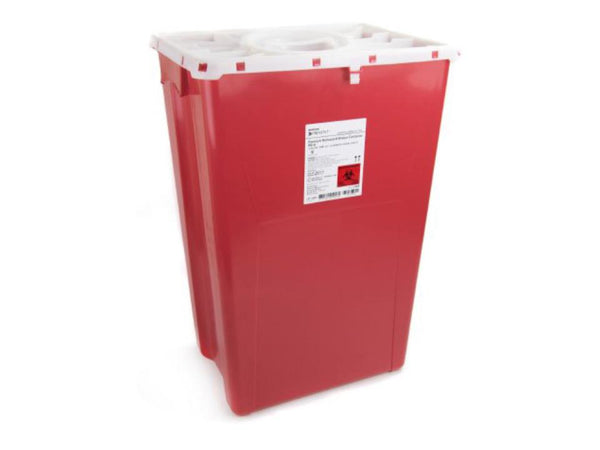 18 Gallon Sharps Container With Port Lid