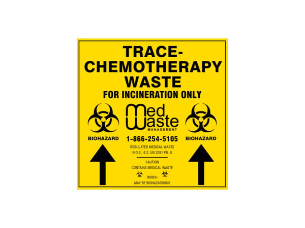 Trace-Chemotherapy Waste Label (Call To Order)