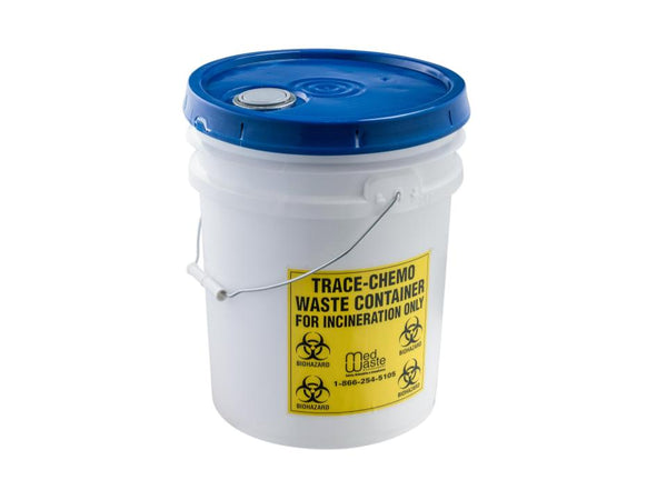 5 Gallon Trace-Chemotherapy Waste Bucket