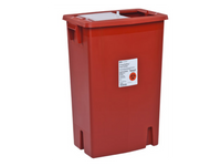 8 Gallon Sharps Container - Sliding Lid (Case of 10)