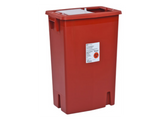 12 Gallon Sharps Container - Sliding Lid (Case of 10)