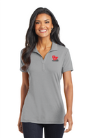 Ladies Cotton Touch Performance Polo