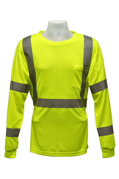 Safety Dri-Wicking Long Sleeve Shirt