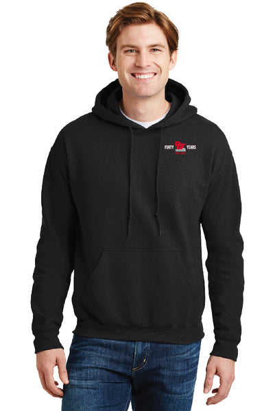 Pullover Hoodie - 40th Anniversary - Reg & Tall Sizes