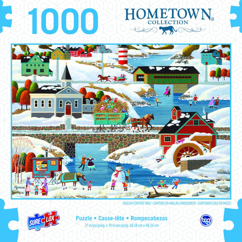 1000pc New England Winter Puzzle