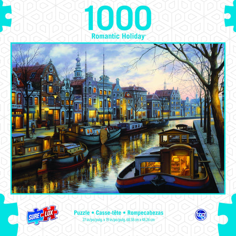 1000pc Canal Life Puzzle