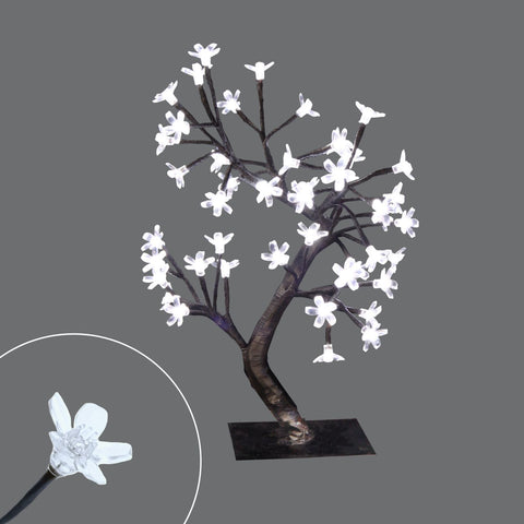 "48L Led 20""Tree W/Transp. Sakura Deco."
