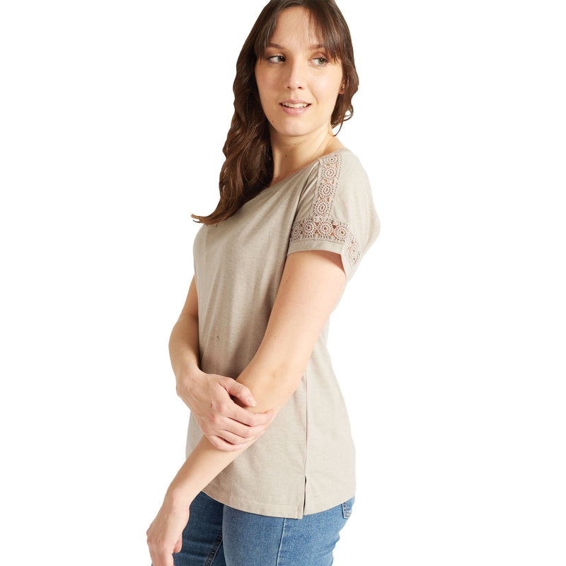 Embroidered Grey T-Shirt - Magasins Hart | Hart Stores
