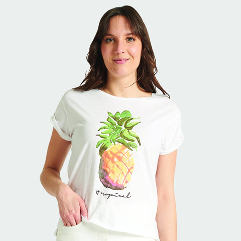 "Graphic T-shirt - ""Tropical"""
